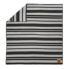 Officially Licensed NFL Acrylic Stripe Throw Blanket - Saints