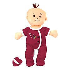 Officially Licensed NFL Baby Fanatic Wee Baby Doll - Arizona Cardinals