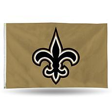 Officially Licensed NFL Banner Flag - Saints