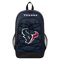 Officially Licensed NFL Bungee Backpack - Houston Texans