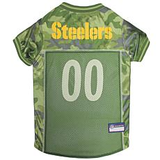 Officially Licensed NFL Camo Jersey - Pittsburgh Steelers