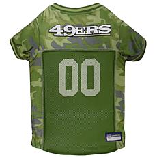 Officially Licensed NFL Camo Jersey - San Francisco 49ers