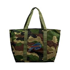 Officially Licensed NFL Camo Tote - Bills