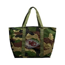 Officially Licensed NFL Camo Tote - Chiefs