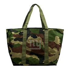 Officially Licensed NFL Camo Tote - Giants