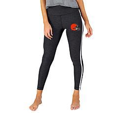 Officially Licensed NFL Centerline Knit Legging - Browns