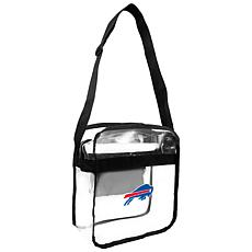 Officially Licensed NFL Clear Carryall Crossbody - Bills