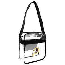Officially Licensed NFL Clear Carryall Crossbody - Redskins