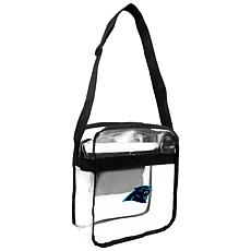 Officially Licensed NFL Clear Gameday Tote - Carolina Panthers