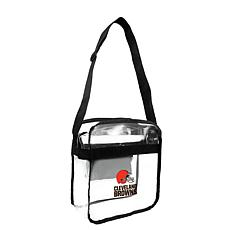 Officially Licensed NFL Clear Gameday Tote - Cleveland Browns