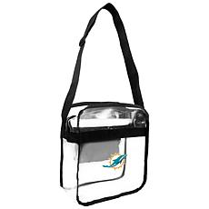Officially Licensed NFL Clear Gameday Tote - Miami Dolphins