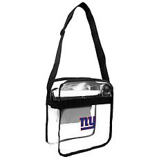 Officially Licensed NFL Clear Gameday Tote - New York Giants