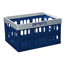 Officially Licensed NFL Collapsible Crate - New England Patriots