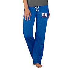 Officially Licensed NFL Concepts Sport Quest Ladies Knit Pant - Giants