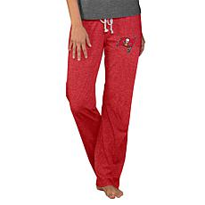 Officially Licensed NFL Concepts Sport Quest Ladies Knit Pant-Tampa