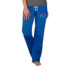 Officially Licensed NFL Concepts Sport Quest Ladies Knit Pant - Bills