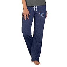 Officially Licensed NFL Concepts Sport Quest Ladies Knit Pant - Titans