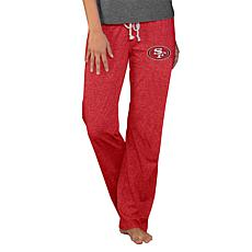 Officially Licensed NFL Concepts Sport Quest Ladies Knit Pant-49ers