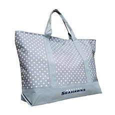 Officially Licensed NFL Dot Tote - Seattle Seahawks
