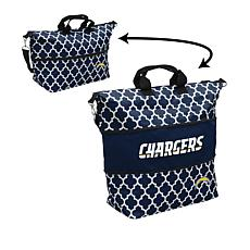 Officially Licensed NFL Expandable Logo Tote Bag