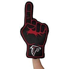 Officially Licensed NFL Foam Finger Plush Pillow - Atlanta Falcons