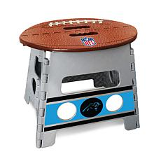 Officially Licensed NFL Folding Step Stool - Carolina Panthers