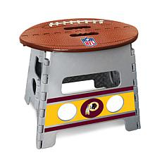 Officially Licensed NFL Folding Step Stool - Washington Redskins
