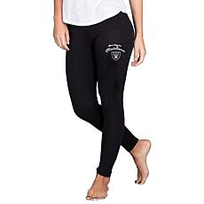Officially Licensed NFL Fraction Legging by Concept Sports - Raiders