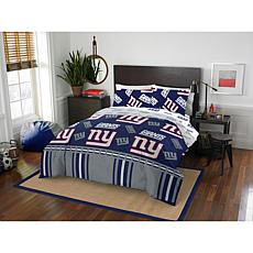 Officially Licensed NFL Full Bed in a Bag Set - New York Giants