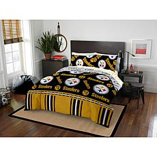 Officially Licensed NFL Full Bed in a Bag Set - Pittsburgh Steelers