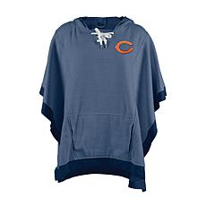 info for 362b4 cf106 Officially Licensed NFL Heathered Hoodie Poncho