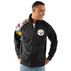 the latest 51400 72556 Officially Licensed NFL Interception Full Zip Track Jacket by Glll
