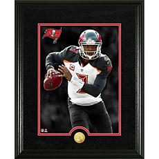 Officially Licensed NFL Jameis Winston Gold Coin Canvas Photo Mint