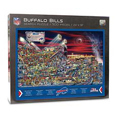 Officially-Licensed NFL Joe Journeyman Puzzle - Buffalo Bills
