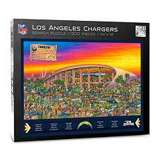 Officially-Licensed NFL Joe Journeyman Puzzle - Los Angeles Chargers