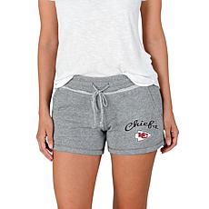 Officially Licensed NFL Mainstream Ladies Knit Shorts - Chiefs