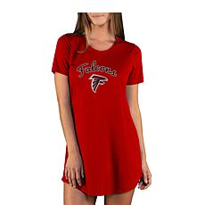 Officially Licensed NFL Marathon Nightshirt by Concept Sports- Falcons