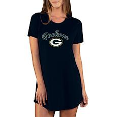 Officially Licensed NFL Marathon Nightshirt by Concept Sports- Packers
