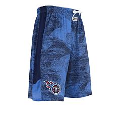 Officially Licensed NFL Marble-Print Knit Short  by Zubaz