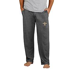 Officially Licensed NFL Men's Knit Pant by Concept Sports - Saints