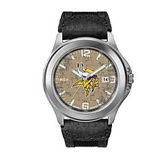 Officially Licensed NFL Men's Old School Watch By Timex