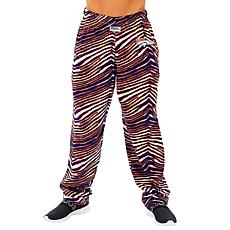 Officially Licensed NFL Men's Zebra Print Pant by Zubaz