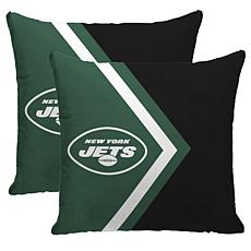 Officially Licensed NFL Pegasus Sports Décor Pillow 2-Pack - Jets