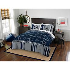 Officially Licensed NFL Queen Bed in a Bag Set - Dallas Cowboys