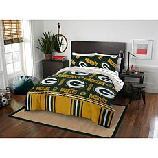 Officially Licensed NFL Queen Bed in a Bag Set - Green Bay Packers