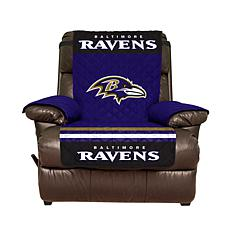 Officially Licensed NFL Recliner Cover - Baltimore Ravens