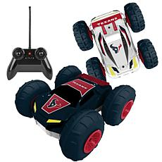 Officially Licensed NFL Remote Control Flip Car - Houston Texans