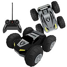 Officially Licensed NFL Remote Control Flip Car - Oakland Raiders