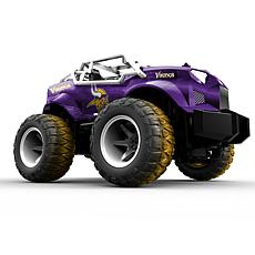 Officially Licensed NFL Remote Control Monster Truck - Vikings