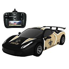 Officially Licensed NFL Remote Control Racer - New Orleans Saints